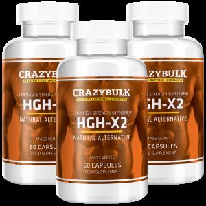 3 Flaschen HGH-X2
