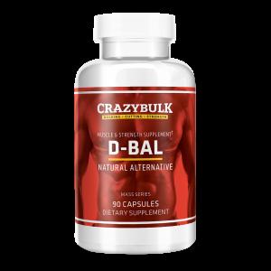 D-Bal, die rechtliche Alternative zu Dianabol